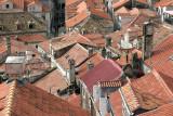 Roof walking in Trogir