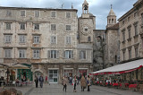 Trogir with the charming city