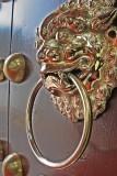 lion door hand