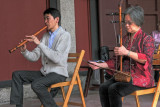 playing chinese instruments