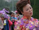 taiwanese lady in Cheongsam/qipao