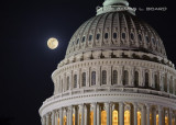 Capitol Moonrise #2