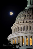 Capitol Moonrise #3