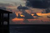 Dark Sunrise in Kauai