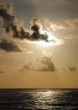 The Sun Seen Through the Clouds