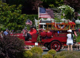 Larkspur Old Fire Truck