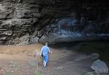 Chris at Waikanaloa Wet Cave