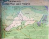 Rush Creek Map