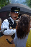 Train Singer with Big Smile