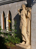Statue and Windows