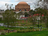 Palace Dome Seen from the Presidio