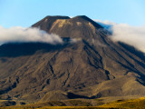 Mount Ngauruhoe, Volcano of the Tongariro Complex, NZ