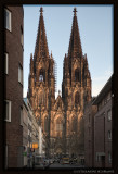 Sunset Light on Cologne Cathedral