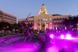 Sugar Land - pink for breast cancer