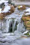 Ice in the Waterfall