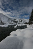 Winter Envelopes the Entiat River Valley