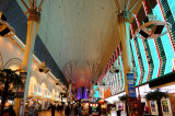 Fremont Street Experience Golden Nuggest and Binions