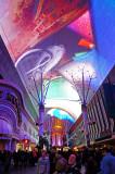 Fremont Street Experience Light Show