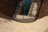 Hoover Dam Looking Down