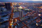 Stratosphere View at Dusk