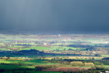 Severn Valley, Stormy weather, Pershore Abbey standing out