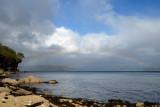 rainbows over Loch Eishort