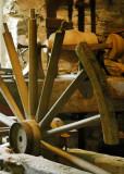 part assembled wheel