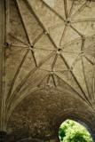 tierceron vault in C14 Abbey gatehouse