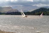 Ullswater with Hellvellyn range behind