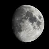 89 percent of moon