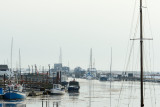 Southwold Harbour from old railway bridge