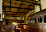 Stokesay Church interior