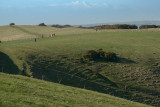 approach to the South Downs