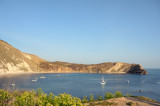 postcard from Lulworth Cove