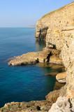 cliffs west of Dancing Ledge