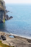 cliffs and pool at Dancing Ledge