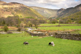 Stonethwaite and Greenup valleys