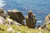 granite stack near Gwennap head