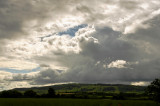storm brewing over Bredon Hill
