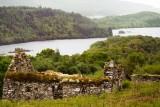 Arichonan - barn with Loch Sween beyond