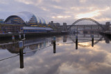 Tyne Bridge and Gateshead Sage