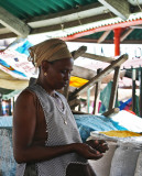 The market in Praia