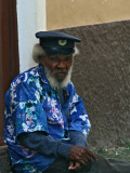 Old man in Praia