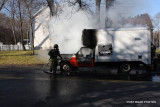 Truck Fire / Naugatuck & Grinnell / Milford CT / Jan 2012