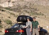 Driving in Lamoille Canyon