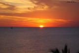 Gulf sunset colors