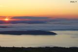 Rising Sun over Frenchman Bay