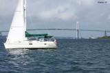 Rose Island and Newport Bridge