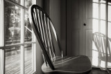 Chair in Morning Window