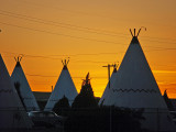 Sunset at The Wigwam Hotel